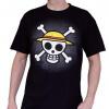 Afbeelding van ONE PIECE - T-Shirt Basic Men Skull With Map (XL)