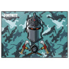 Afbeelding van Fortnite bureau plate Black Knight