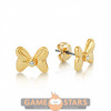 Afbeelding van Disney Minnie Mouse Crystal Bow Studs (Yellow Gold)