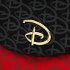 Afbeelding van LF Red/Blk Disney Logo Debossed Cross Body Bag W/R