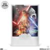 Afbeelding van Star Wars: The Force Awakens Silver Foil Framed Print