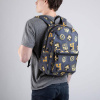 Afbeelding van Harry Potter Backpack Hufflepuff Patches
