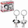 Afbeelding van Pocket Pop Keychain: Disney 101 Dalmatians - Pongo and Perdita 2-Pack