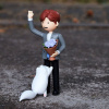 Afbeelding van BTS figurine PVC Art Toy Jin (Kim Seokjin) 15 cm
