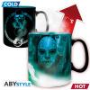 Afbeelding van HARRY POTTER - Mug Heat Change - 460 ml - Voldemort - with box x2