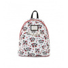 Afbeelding van LoungeFly MICKEY AND MINNIE MOUSE LOVE AOP MINI BACKPACK