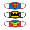 Afbeelding van DC Comics: Standard Face Masks 3-Pack