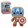 Afbeelding van POP Marvel: Holiday- Gingerbread Captain America