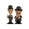 Afbeelding van Laurel et Hardy pack 2 Bobble Head Mini Suits 8 cm
