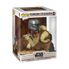 Afbeelding van Pop! Deluxe: Star Wars The Mandalorian - The Mandalorian on Bantha with Child in Bag