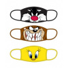 Afbeelding van Looney Tunes: Standard Face Masks 3-Pack