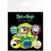 Afbeelding van Rick and Morty: Badge Pack