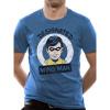 Afbeelding van BATMAN - DESIGNATED WING MAN T-Shirt INDIGO BLUE