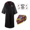 Afbeelding van Harry Potter: Gryffindor Robe + Necktie + Tattoo Set - Size L