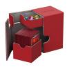 Afbeelding van Ultimate Guard Flip´n´Tray Deck Case 100+ standard size XenoSkin Red