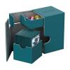 Afbeelding van Ultimate Guard Flip´n´Tray Deck Case 100+ standard size XenoSkin Petrol Blue