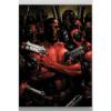 Afbeelding van Marvel poster en métal Deadpool Gritty Wrong Neighborhood 32 x 45 cm