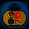 Afbeelding van Harry Potter & Hewdig Button 4-pack