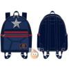 Afbeelding van Loungefly Captain America Cosplay Mini BackPack