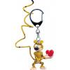 Afbeelding van Marsupilami: Marsupilami Heart 12 cm Keychain