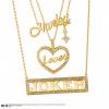 Afbeelding van DC Comics: Harley Loves Joker Necklace Set