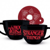 Afbeelding van STRANGER THINGS - UPSIDE DOWN - CAPPUCCINO MUG 630 ML