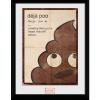 Afbeelding van Emoji: Deja Poo Collector Print