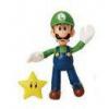 Afbeelding van World of Nintendo Action Figure Luigi with Super Star 10 cm