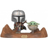 Afbeelding van POP Star Wars: The Mandalorian - Television moment - The Mandalorian With Child