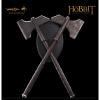 Afbeelding van The Hobbit: Dwalin's Axes prop replica