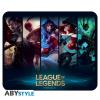 Afbeelding van League of Legends - Flexible mousepad - Champions