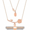 Afbeelding van Disney Beauty and the Beast Rose Necklace (Rose Gold)