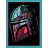 Afbeelding van Star Wars: The Mandalorian - Helmet Section 30 x 40 cm Canvas Print