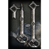 Afbeelding van The Hobbit pen and bookmark 3D Thorin