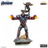 Afbeelding van Marvel: Avengers Endgame - Iron Patriot and Rocket 1:10 Scale Statue