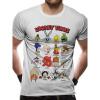 Afbeelding van LOONEY TUNES - FACES T-Shirt WHITE