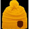 Afbeelding van Harry Potter Beanie Pompon Hufflepuff Logo