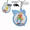 Afbeelding van Asterix: Obelix Pafff Reversible Rubber Keychain