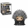 Afbeelding van POP Deluxe: GOT S10 - Cersei Sitting on Throne