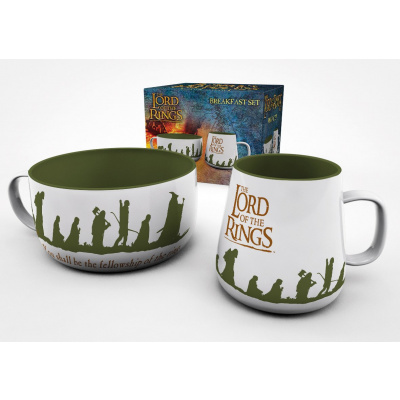 Lord of the Rings: Fellowship Breakfast Set
