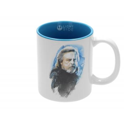 Star Wars The Last Jedi: Luke Skywalker White-Blue Ceramic Mug