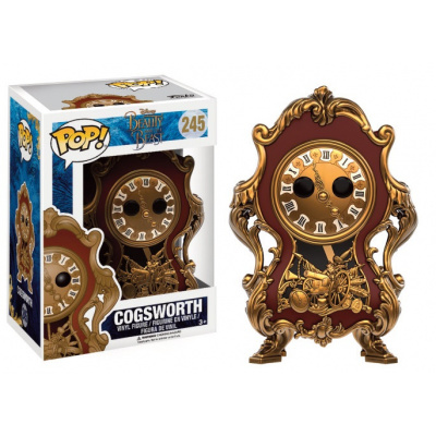 DISNEY - Bobble Head POP N° 245 - Beauty and the Beast - Cogsworth
