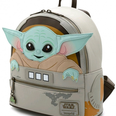 Loungefly - Star Wars Mandalorian Child Craddle Mini Backpack