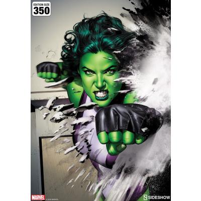 Marvel: She-Hulk Unframed Art Print