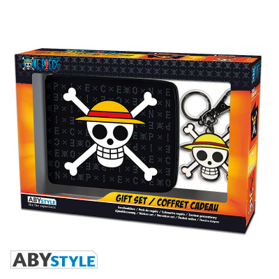 ONE PIECE - Pck Wallet + Keyring