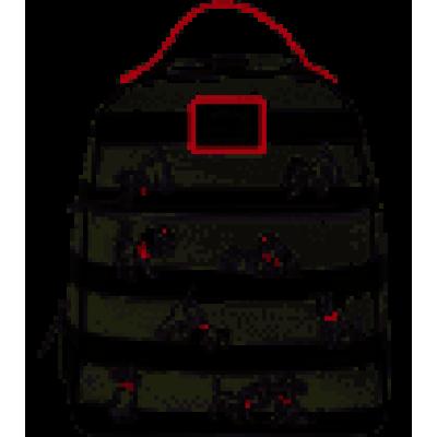 Disney: 101 Dalmations - Striped Mini Backpack