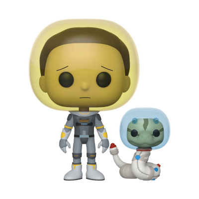 Pop! Cartoons: Rick and Morty - Space Suit Morty with Snake
