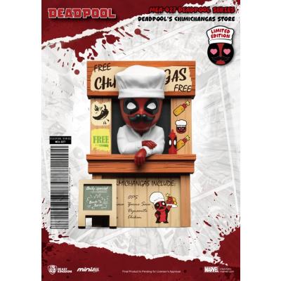 Marvel: Deadpool Series - Deadpool's Chimichangas Store 3 inch Figure