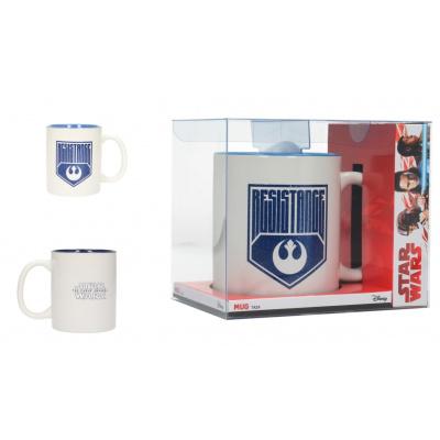 Star Wars The Last Jedi: Resistance Logo White-Blue Mug