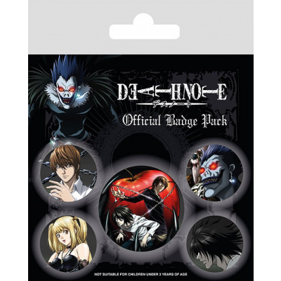 Death Note: Characters Badge Pack